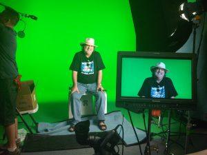 Pat O'Bryan on TV set