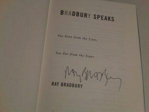 ray bradbury signature