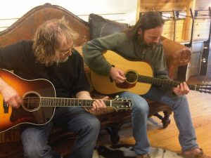 Ray Wylie Hubbard and Kevin Welch