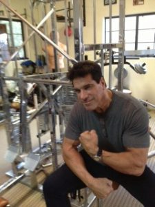 The Great Lou Ferrigno in my gym