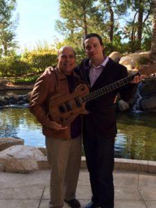 Guitar maker Mark Seddon