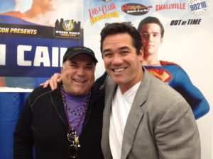 Meeting Dean Cain (and I was 50 pounds heavier)