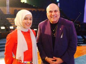 With Alaa Alothman in Kuwait