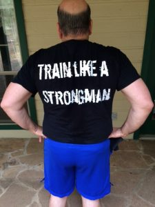 I AM a strongman!