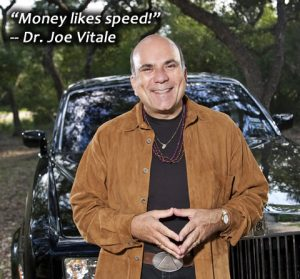 """Money likes speed"""