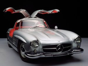 The Legendary Mercedes SL300 Gullwing