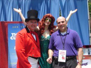 P.T.Barnum and a mermaid, too!