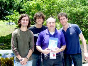 The band Porterdavis and me in 2006