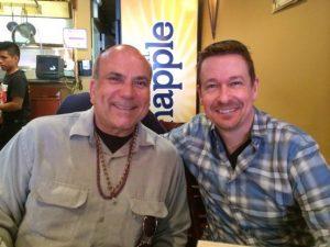 With Dr. Steve G. Jones