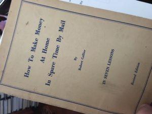 Rare course by Robert Collier