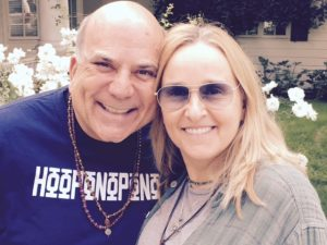 With Melissa Etheridge (!)