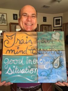 """Train your mind to see the good in every situation"""