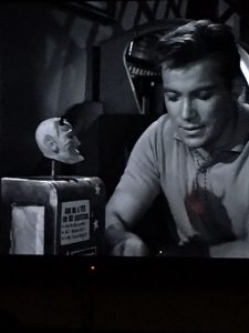 William Shatner in a Twilight Zone episode