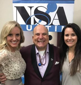 With NSA attendees Lori Anderson and Meghan Sandau