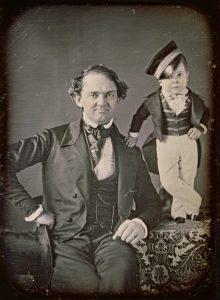 P.T. Barnum and Tom Thumb