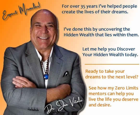 Joe Vitale of The Secret DVD is Law of Attraction expert and